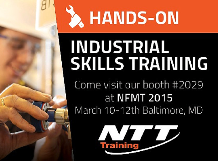 NTT Training is Exhibiting at NFMT 2015
