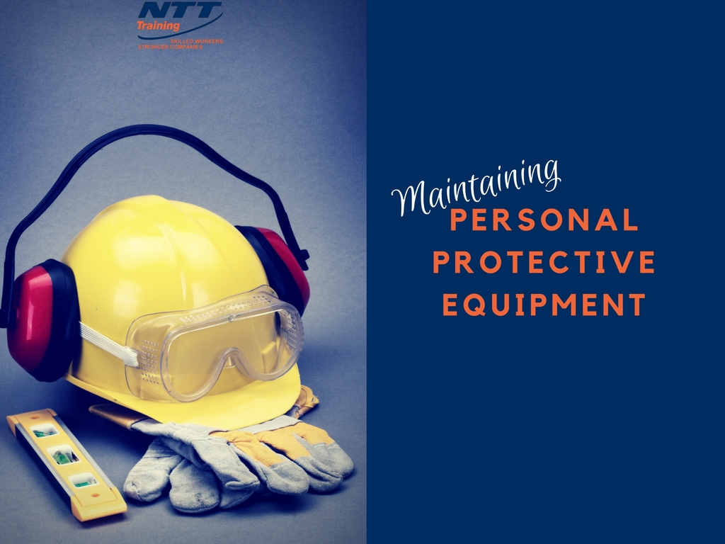 How to maintain personal protective equipment