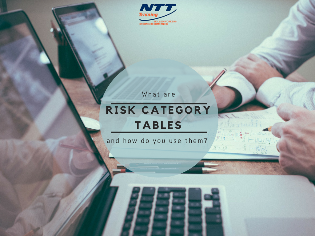 What are Risk Category Tables and How do you Use Them?