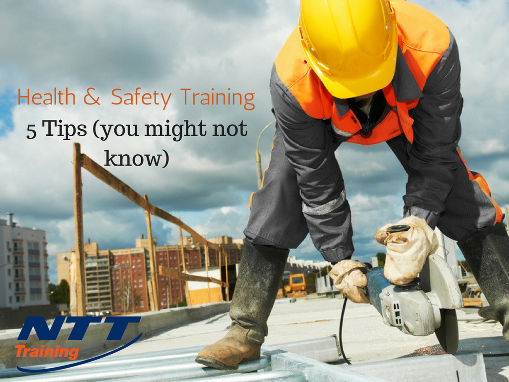 Health and Safety Training: 5 Tips You Might Not Know